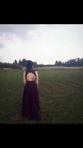 Size 4 plum dress