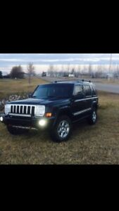 Lifted 2008 Jeep commander