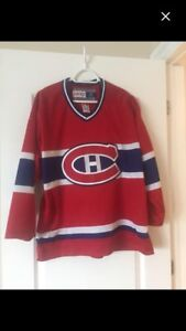 Official Habs/Canadians Jersey