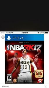 NBA 2K17 PS4 trade for battlefield 1