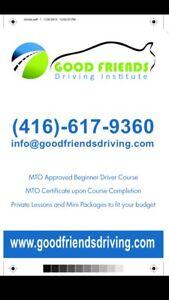 GOOD FRIENDS DRIVING INC