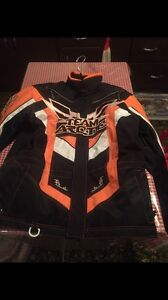 Snowmobiling jacket