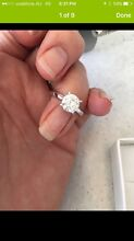 Huge 1.72ct solitaire diamond engagement ring Belmont Geelong City Preview
