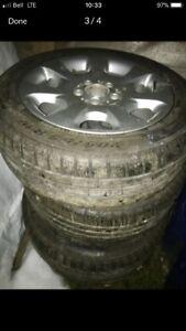 Pneu d'hiver Pirelli Sottozero avec mags Mercedes