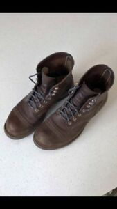 Iron ranger size 8 men's red wing boot