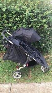 Black baby Jogger city mini double Banyo Brisbane North East Preview