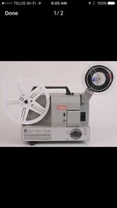 8 mm film projector wanted