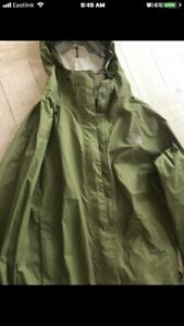 Women's Green spring North-face Jacket size M