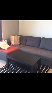 Sofa extension to bed (IKEA) + storage Southbank Melbourne City Preview