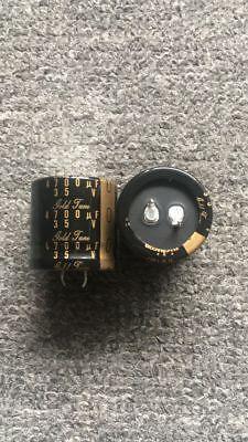 2pcs Nichicon Kg Type Ii 4700uf 35v Electrolytic Capacitor 3030mm