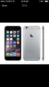 iPhone 6 Space Gray 16gb - Rogers
