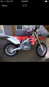 2014 Honda CRF450X for sale