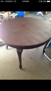 Knechtels dining table - made in Canada