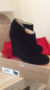 Ankle Boots Black Christian Louboutin Authentic Southbank Melbourne City Preview