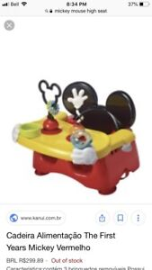Mickey Mouse Chair seat