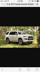 Wanted 4runner 2015/2016 lease takeover