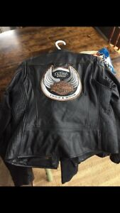 Women's 105th anniversary Harley leathers