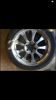 20 inch rims new tyres  $500 Ono