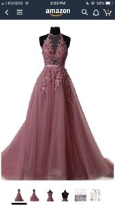 Brand new prom coloured princess dress (perfect for prom/grad)
