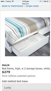 NEW 2 x IKEA (Malm) under bed storage boxes Moggill Brisbane North West Preview