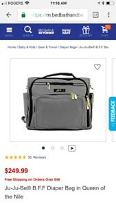 JuJu Be BFF diaper bag