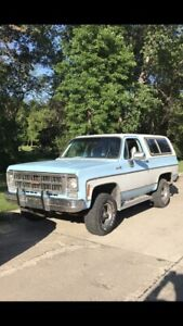 1978 GMC JImmy High Sierra