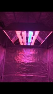 Hydroponic grow tent and grow light combo!
