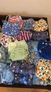 Cloth diapers. Make me an offer.