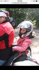 Motorcycle harness for child