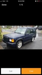 Land Rover Discovery 2001.