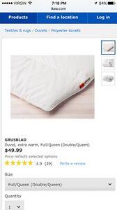 IKEA Duvet (Queen size)