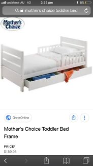 Mothers Choice Toddler Bed With Babyhood Mattess