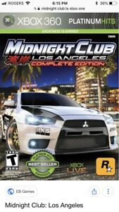 I want midnight club LA Xbox 360