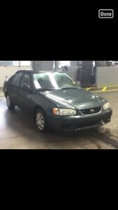 2001 TOYOTA COROLLA CE ONE OWNER ACCIDENT FREE AUTOMATIC