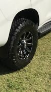 Prado 150 hussla wheels Wadalba Wyong Area Preview