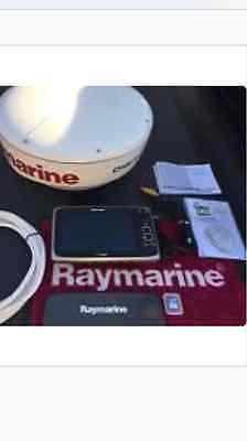 Raymarine E97 Hybridtouch GPS/Radar package