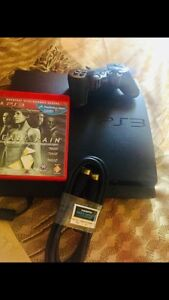 PS3 with 320GB 60$