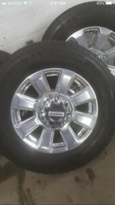 Wanted. Ford super duty truck factory rims. 8 bolt.