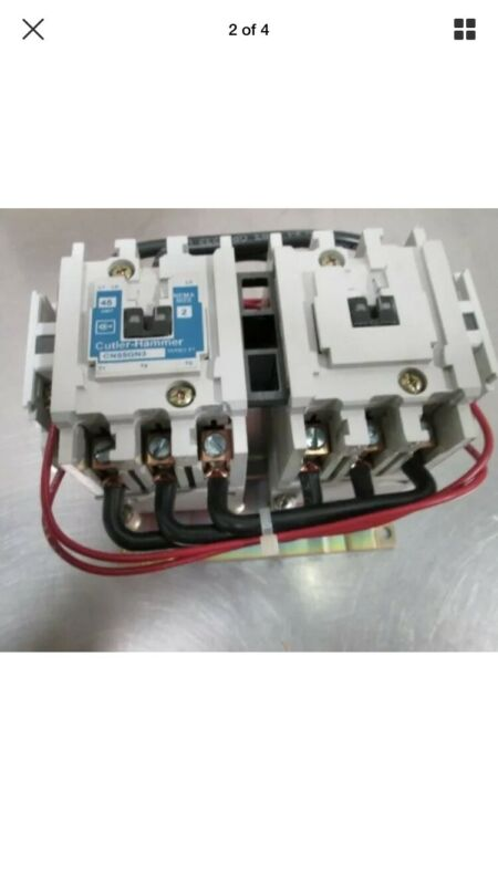 EATON CN55GN3AB 110-120 Volts Coil Reversing Magnetic Contactor 3P 45A New