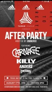 Adidas tango after party
