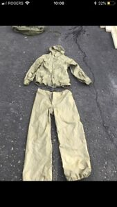 Gortex rain suit
