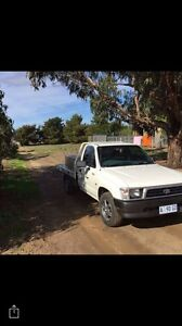 1997 Toyota hilux , excellent work ute with tool boxes Kingston Kingborough Area Preview
