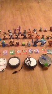 A big lot of Skylanders and consoles. AVAILABLE