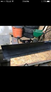 60 inch Polaris atv plow with mount