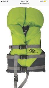 Life jacket used once