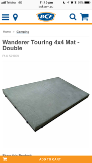 Wanderer Touring Double camping bed near new