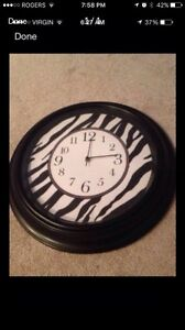 zebra clock- works great