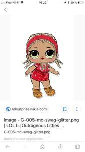 8 poupées LOL