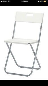 Rental chair and table