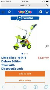 Tricycle pour enfants Little Yikes